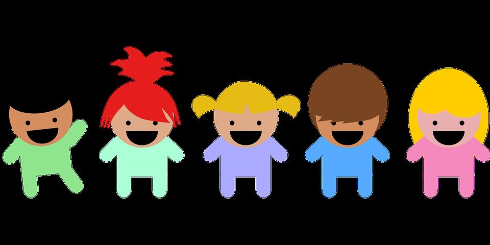 happy kids learning mandarin