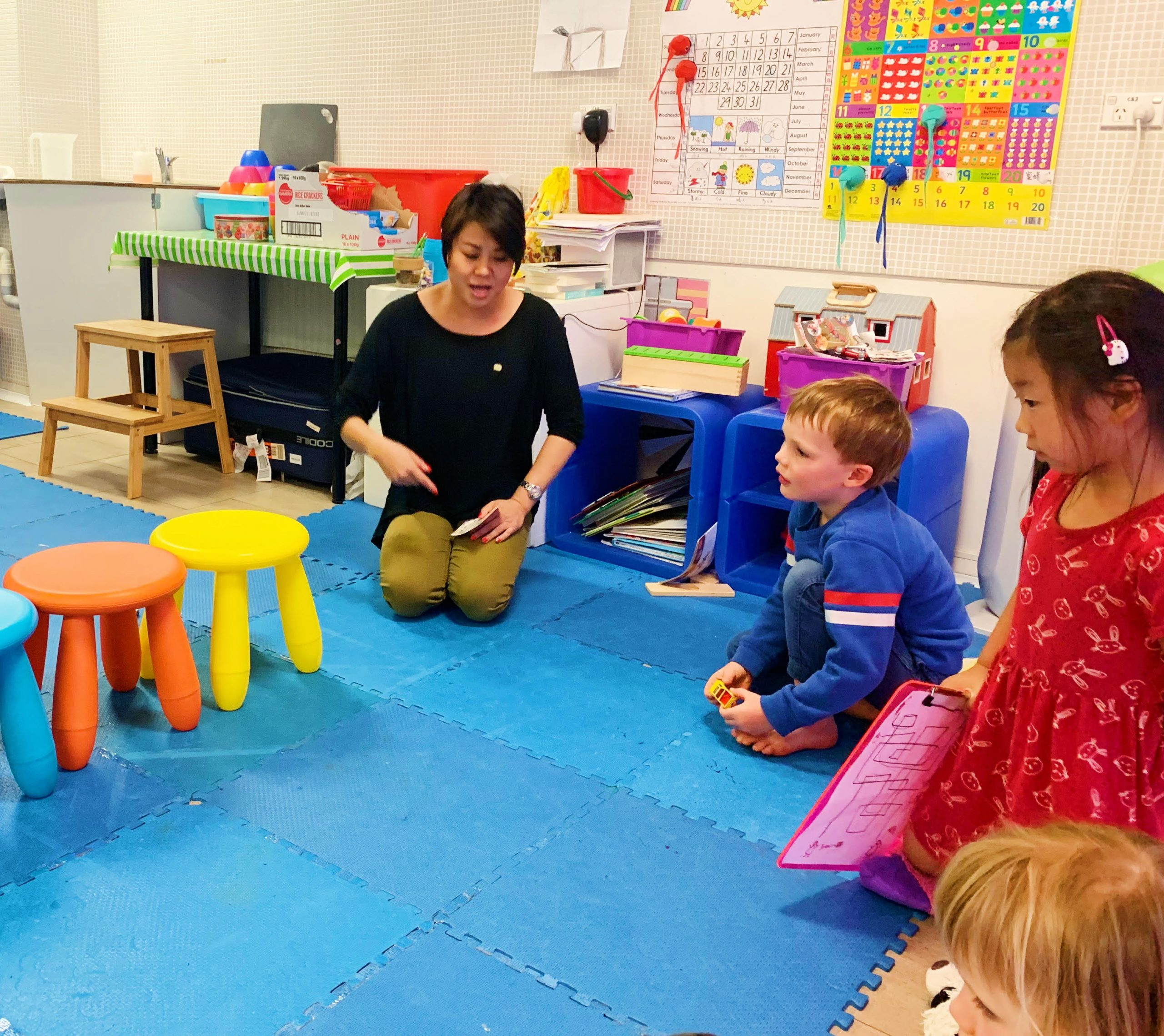 Mandarin Chinese classes for toddlers in Sydney