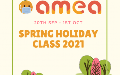 Spring Holiday Class 2021